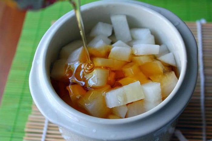 白蘿蔔+蜂蜜