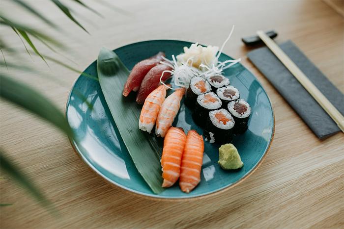 減脂餐吃壽司,抗性澱粉助瘦身