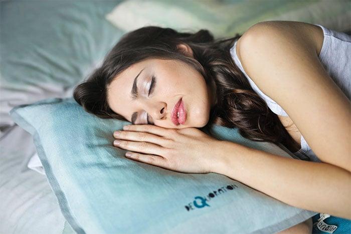 睡覺流口水
