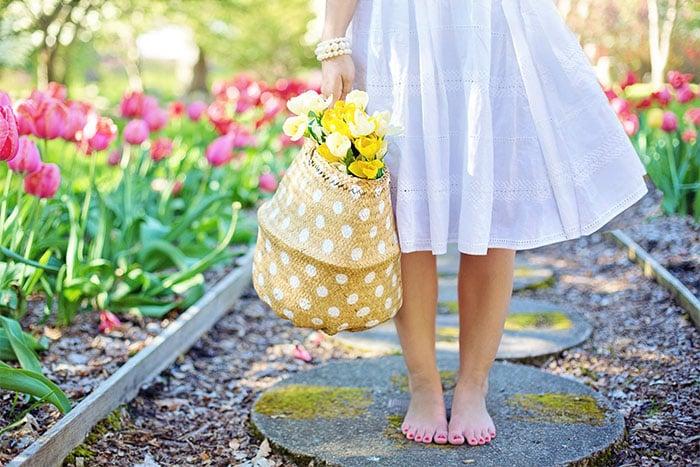 簡單足療 赤腳走路