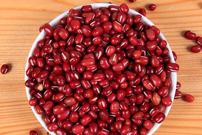 紅豆 紅豆水 煮紅豆優於泡紅豆研磨粉