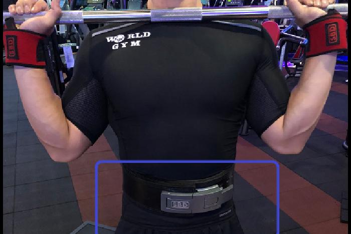 腰帶使用可以增加核心支撐跟穩定