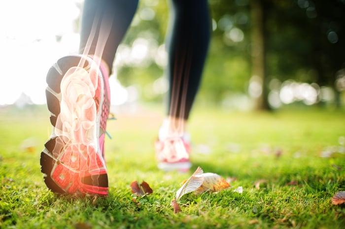 扁平足 走路姿勢不對 足弓塌陷 走久腳酸