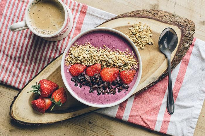 草莓水果燕麥 生燕麥 飽足感