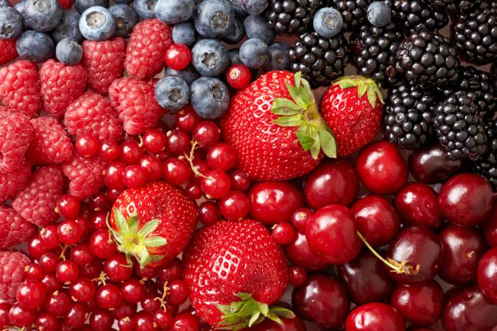 紓壓好食物-莓果