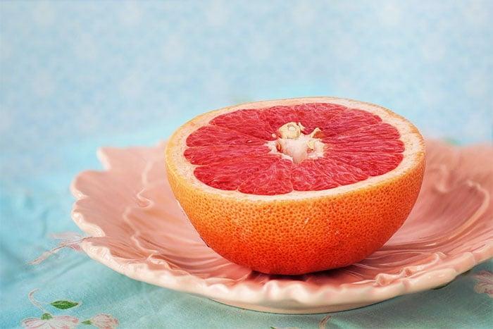 葡萄柚熱量低