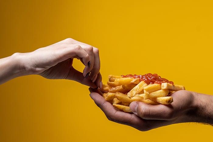 薯條 垃圾食物 團購零食 餅乾零食 肥胖