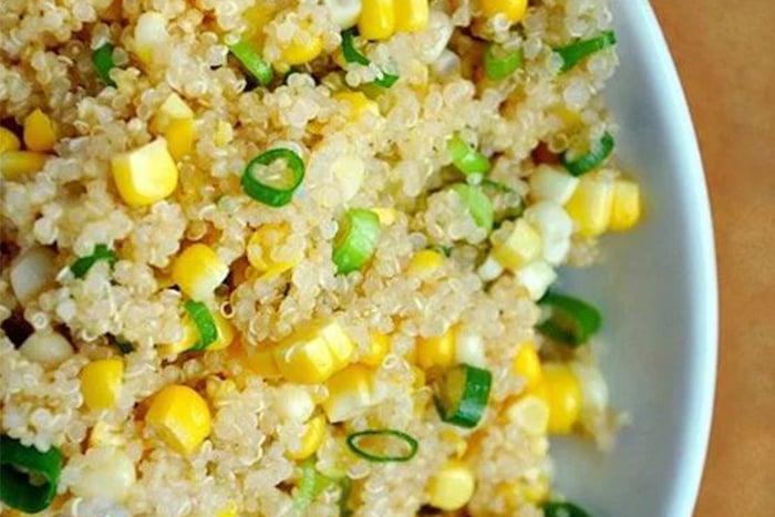 藜麥玉米蛋炒飯