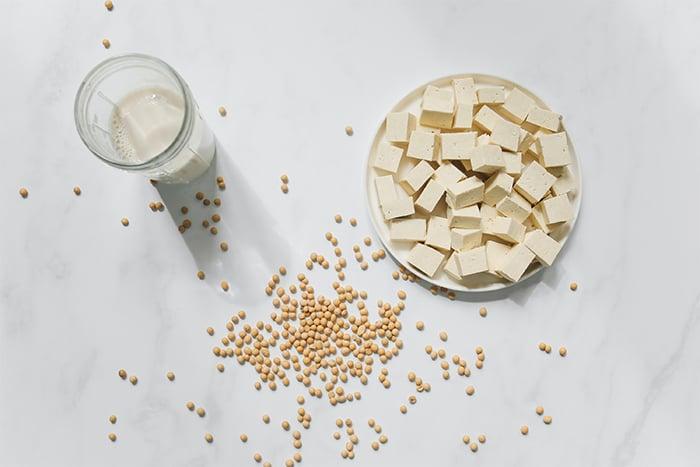 豆漿 豆腐 多吃大豆製品 改善內分泌失調