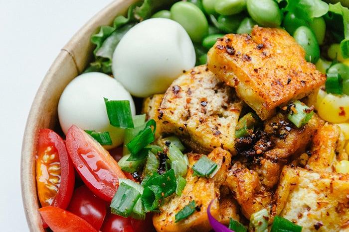 豆腐減肥法 豆腐沙拉