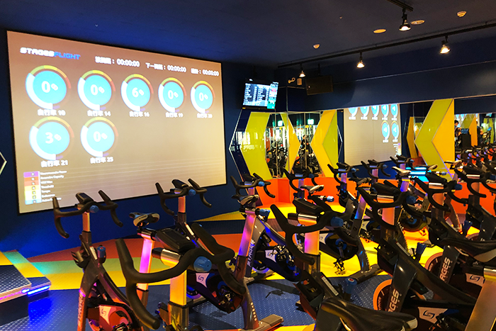 World Gym 獨家Stage fly飛輪教室-s