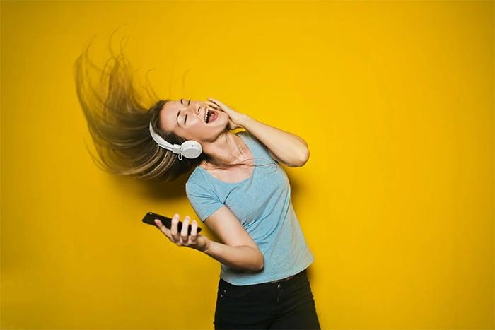 運動時戴耳機