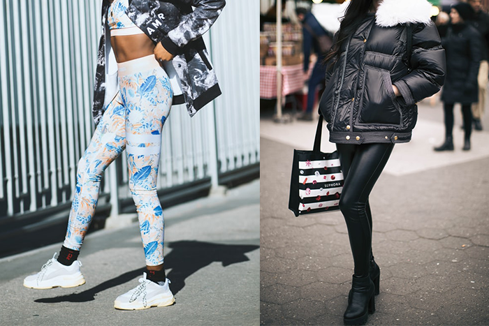 緊身褲的製作初衷,比較偏向美觀;而壓力褲相反,主打功能性