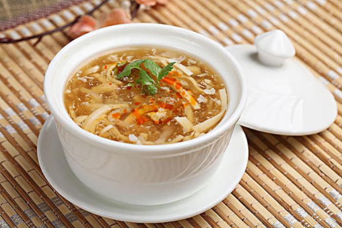 5大勾芡小吃熱量-酸辣湯