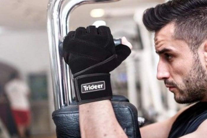 重訓手套 健身 保護作用 造型 流手汗