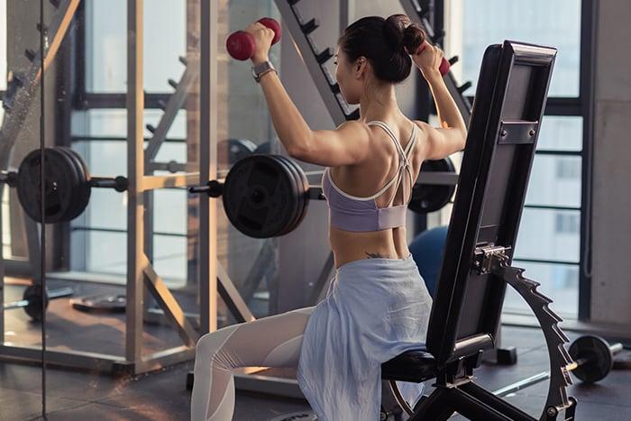 提高基礎代謝率 運動 重訓 增加身體的肌肉量