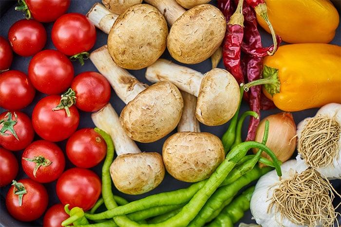 銀髮族飲食原則 多吃蔬菜水果