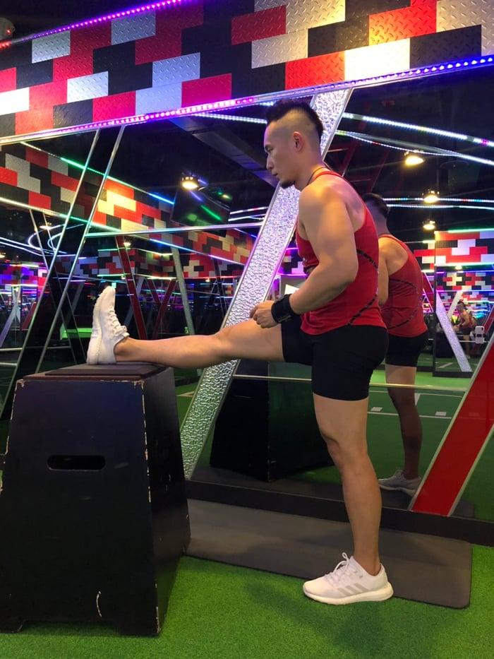 錯誤腿後側伸展