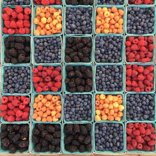 防失智最佳飲食「麥得飲食」介紹與一周菜單-漿果類