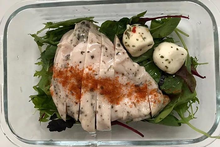 雞胸肉 起司 沙拉