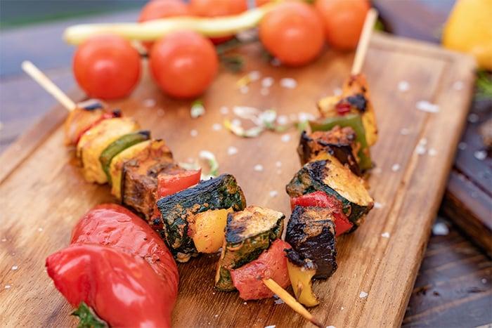 健康烤肉食材 青椒 甜椒 膳食纖維 維生素C