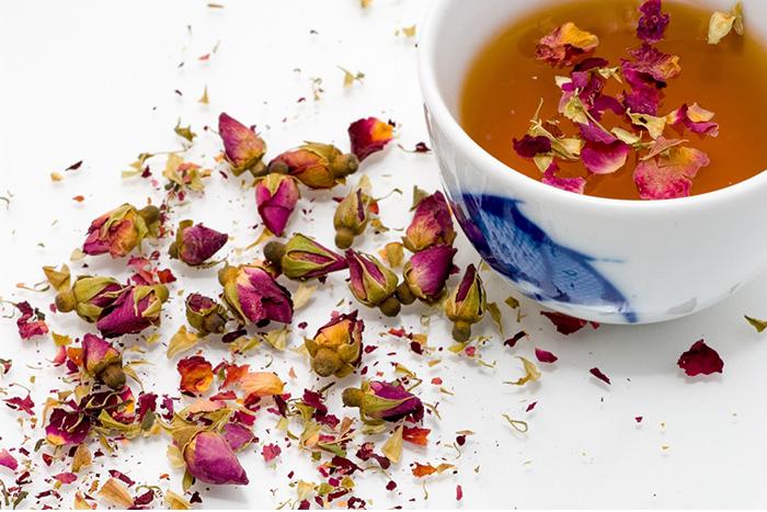 養肝食物-花茶