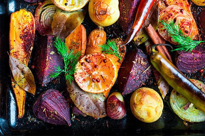健康飲食-高溫烘烤甜菜根