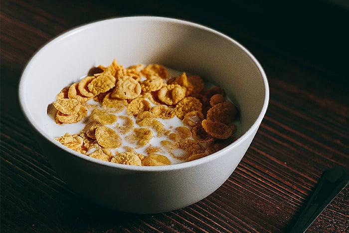 麥片 早餐吃麥片