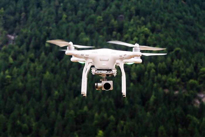 空拍機適合拍攝建築物或是大場景