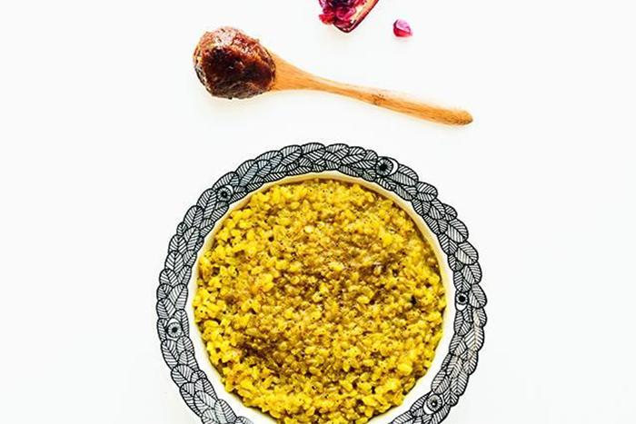 燕麥食譜推薦-五香椰奶糙米粥