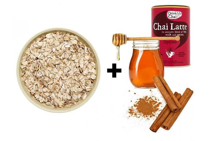 燕麥食譜推薦-印度奶茶燕麥片