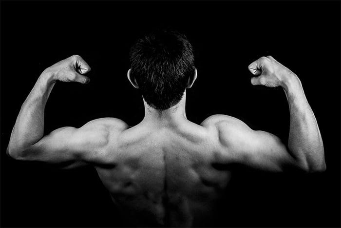 BCAA協助肌肉合成