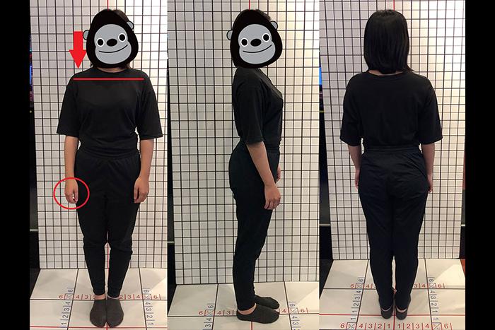 Inbody身體組成分析-正面、側面、背面