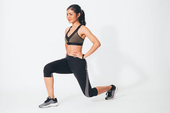 臀部、大腿前側訓練﹣lunge