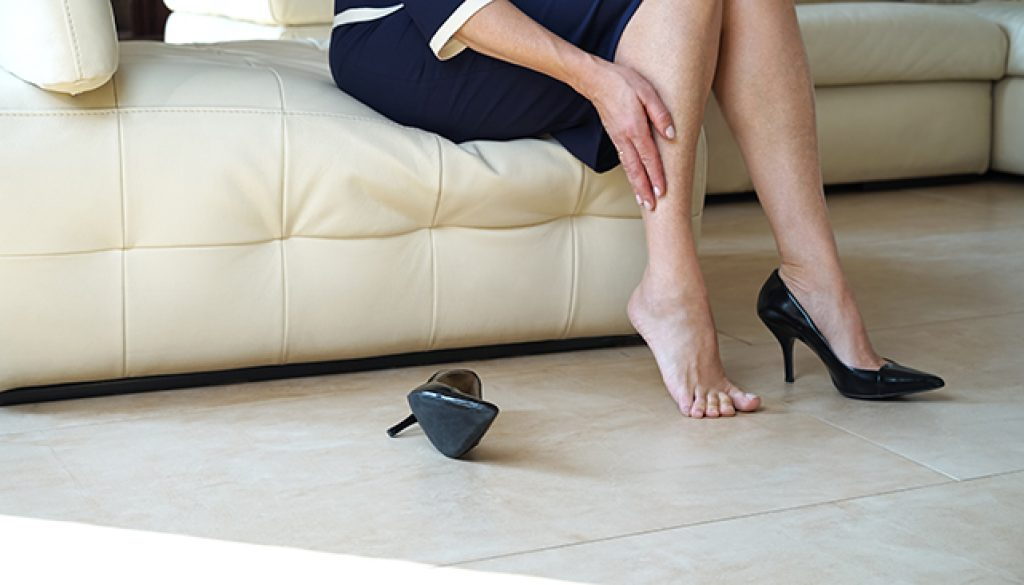 預防靜脈曲張要少穿高跟鞋