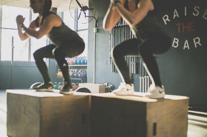 深蹲 squat 臀大肌 股四頭肌 腿後肌群