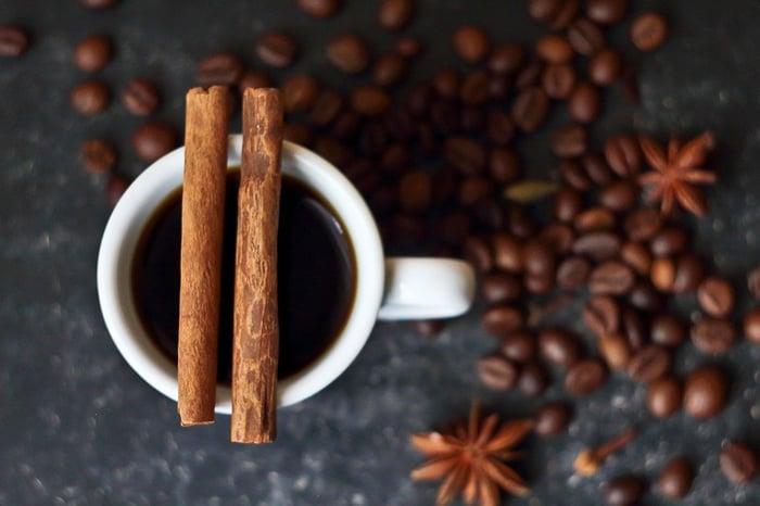 杏仁加咖啡
