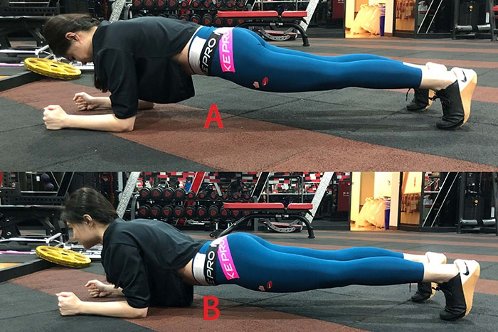 請問下圖A和B哪一個是正確的棒式呢?