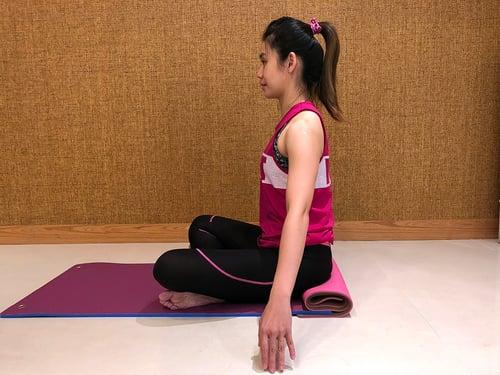 瑜珈正確姿勢