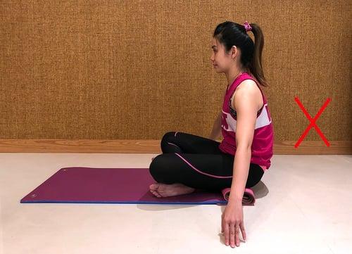 瑜珈錯誤姿勢