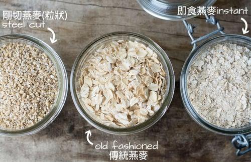 生的燕麥才有營養價值