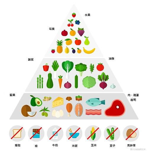 生酮飲食食物