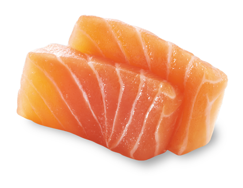 生-鮭魚生魚片