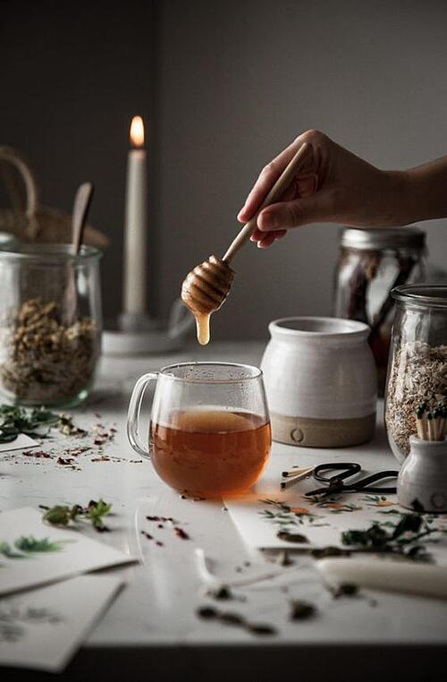 肉桂蜂蜜茶