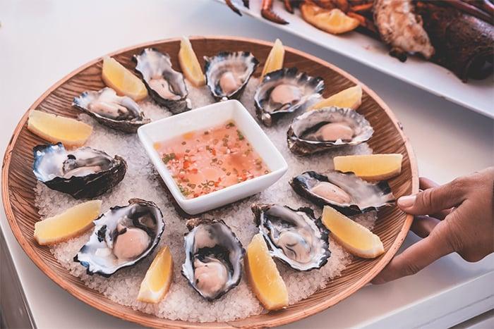蛤蜊 淡菜牡蠣等海鮮 鋅鐵含量豐富
