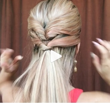 運動時尚髮型教學,氣質公主頭