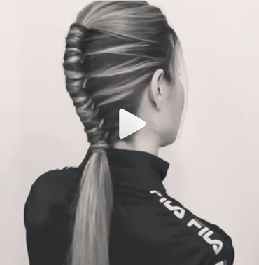 運動時尚髮型教,馬尾