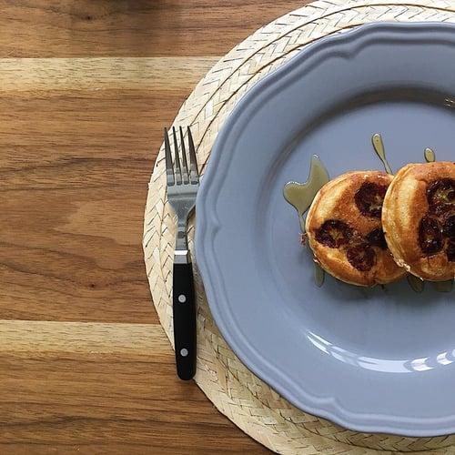 希臘優格食譜-香蕉希臘優格鬆餅