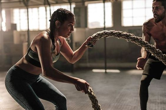 戰繩 增強耐力與力量 有效燃脂 操肌