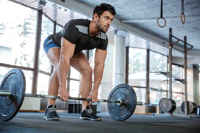 槓鈴 無氧運動 健身 全身性運動 肌耐力訓練 燃脂